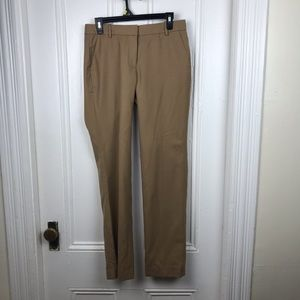 J.Crew tan sand favorite fit work dress pants NWT